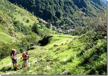Aufstieg Bochetta di Campello