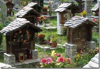 Alagna Val Sesia Friedhof