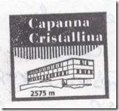 Capanna Cristallina Stempel