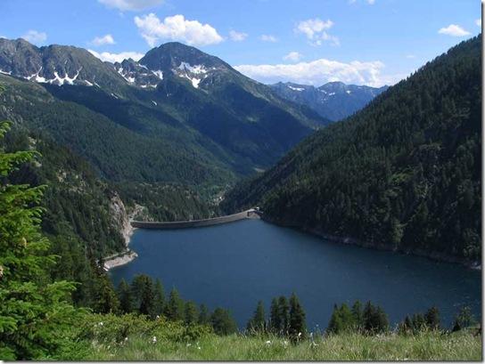 Lago-Sambuco-Staumauer