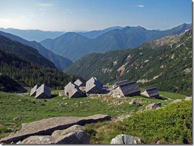 Die Alpe di Spluga - Ein Rifugium erster Klasse auf dem beschwerlichen Weg vom Maggia- ins Verzascatal.