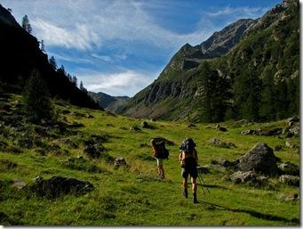 Das schwarze Tal..... eindrucksvolle Walserkultur und der Blick auf das höchstgelegene Haus Europas.