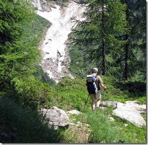 Abstieg-Val-Osola-Lawine