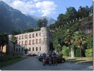 Die Trattoria 'Uomo Selvatico'; ....zu Gast beim Waldmensch von Chiavenna.