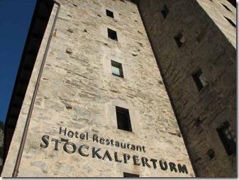 Mittelalterliches Flair in der Gondoschlucht- Hotel Stockalperturm