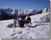 Alpe Mottac: Tim mit Freundin