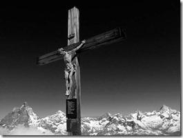 Klein-Matterhorn-Gipfelkreu