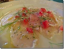 Schwertfisch-Carpaccio