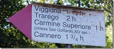 Carmine-Wanderweg