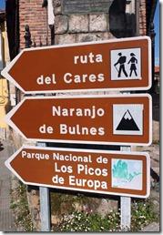 Picos-de-Europa-Wegweiser